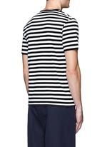 'Eddy Stripes' jersey T-shirt