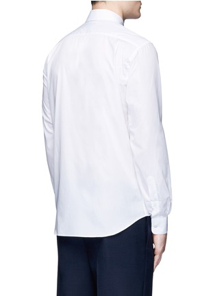 Back View - Click To Enlarge - Acne Studios - 'Jeffrey' emoji patch poplin shirt