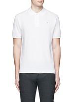 'Kolby Face' emoji patch cotton polo shirt