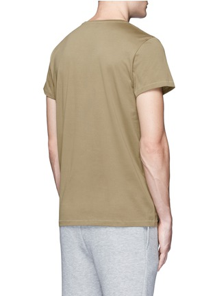 Back View - Click To Enlarge - Acne Studios - 'Standard' cotton jersey T-shirt