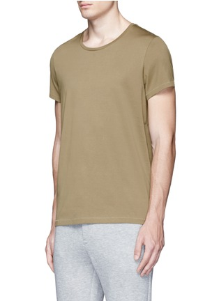 Front View - Click To Enlarge - Acne Studios - 'Standard' cotton jersey T-shirt