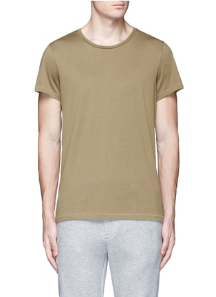 Main View - Click To Enlarge - Acne Studios - 'Standard' cotton jersey T-shirt