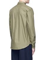 'Spin' pocket military shirt
