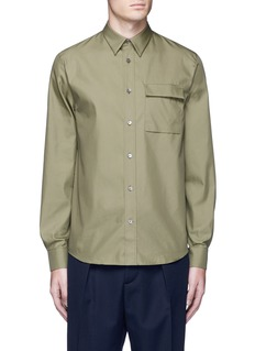 Acne Studios 'Spin' pocket military shirt