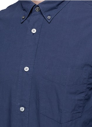 Detail View - Click To Enlarge - Acne Studios - 'Isherwood' button down collar poplin shirt
