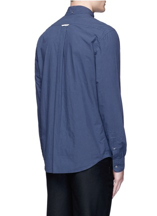 Back View - Click To Enlarge - Acne Studios - 'Isherwood' button down collar poplin shirt