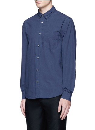 Front View - Click To Enlarge - Acne Studios - 'Isherwood' button down collar poplin shirt