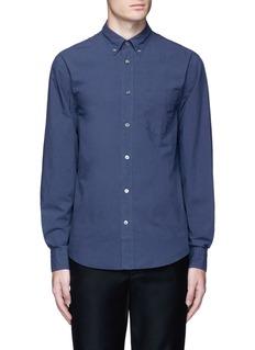 Acne Studios'Isherwood' button down collar poplin shirt