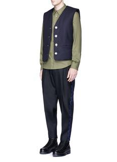 Acne Studios'Metropolitan' padded wool vest