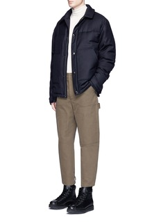 Acne Studios'Mountain' puffer shirt jacket