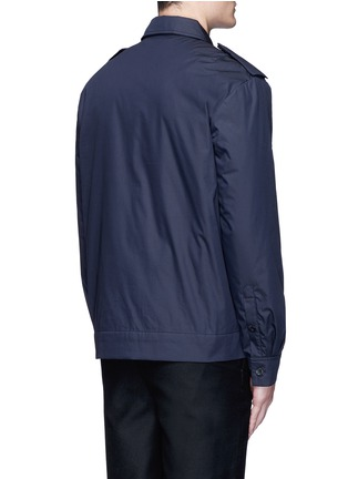 Back View - Click To Enlarge - Acne Studios - 'Salvador' padded water repellent shirt jacket