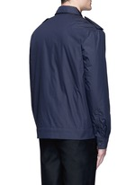 'Salvador' padded water repellent shirt jacket
