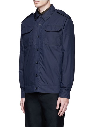 Front View - Click To Enlarge - Acne Studios - 'Salvador' padded water repellent shirt jacket