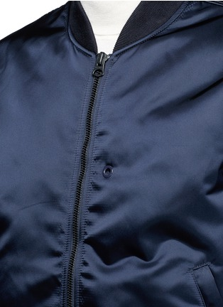 Detail View - Click To Enlarge - Acne Studios - 'Selo' bomber jacket