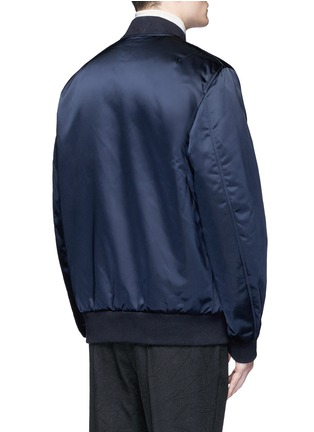 Back View - Click To Enlarge - Acne Studios - 'Selo' bomber jacket