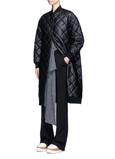 Stella McCartney Quilted faux leather coat