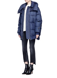 Stella McCartneyDenim puffer coat