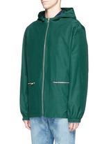 'Jailhouse' contrast geometric print jacket