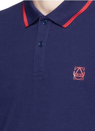 McQ Alexander McQueen-Geometric logo cotton polo shirt