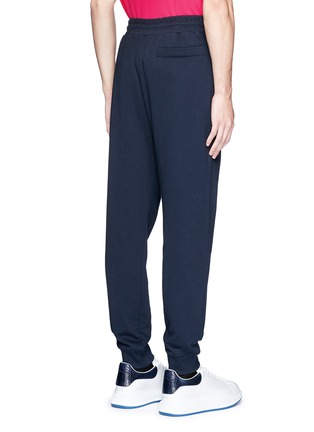 Back View - Click To Enlarge - McQ Alexander McQueen - Swallow skull patch appliqué sweatpants