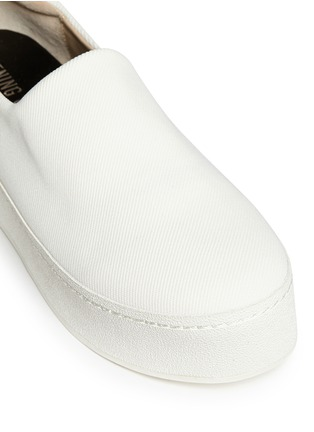 Detail View - Click To Enlarge - Opening Ceremony - 'Cici' twill flatform skate slip-ons