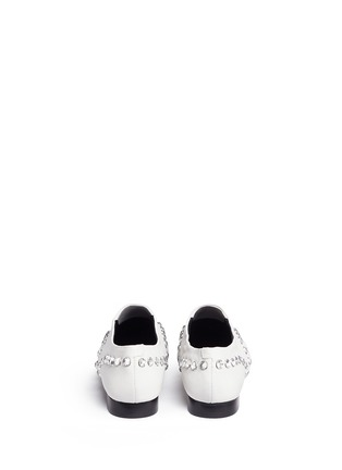 Opening Ceremony - 'Charly' jewel leather slip-ons
