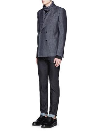 模特儿示范图 - 点击放大 - DOLCE & GABBANA - Stretch 14低腰修身牛仔裤