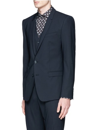 Front View - Click To Enlarge - Dolce & Gabbana - 'Gold' slim fit three piece suit