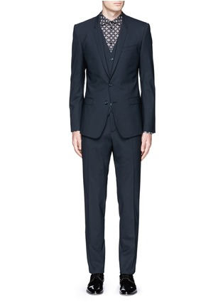 Main View - Click To Enlarge - Dolce & Gabbana - 'Gold' slim fit three piece suit