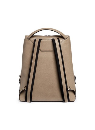 Back View - Click To Enlarge - Valextra - 'V-Line' leather backpack