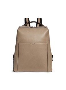 Valextra 'V-Line' leather backpack