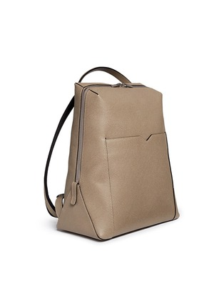 - Valextra - 'V-Line' leather backpack