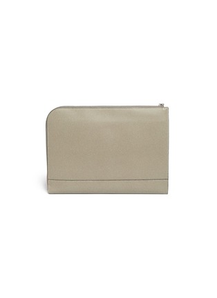 Back View - Click To Enlarge - Valextra - Leather document holder