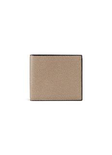ValextraLeather bifold wallet