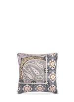 Hamilton Boonville paisley print sateen cushion