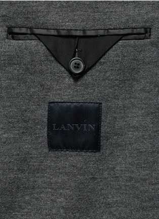- Lanvin - Notch lapel unlined blazer