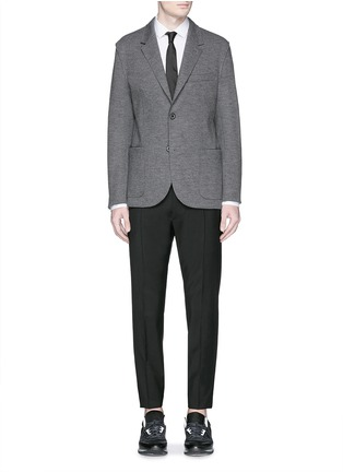 Figure View - Click To Enlarge - Lanvin - Notch lapel unlined blazer