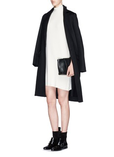 MO&CO. EDITION 10 Turtleneck sleeveless knit dress