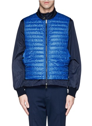 - Moncler - 'Hernest' reversible down jacket