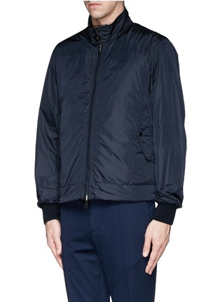 Front View - Click To Enlarge - Moncler - 'Hernest' reversible down jacket