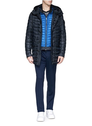 Figure View - Click To Enlarge - Moncler - 'Hernest' reversible down jacket