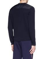 'Maglia Tricot' cotton cardigan