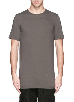 DRKSHDW by Rick Owens - Irregular seam long T-shirt