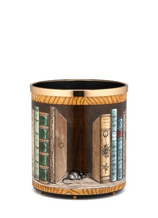 Fornasetti-Gatto con Libri paper basket