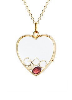 Loquet London Birthstone charm - January 'Always There' Garnet