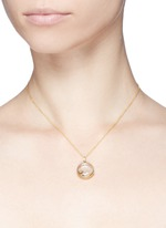 18k yellow gold peace charm - Serenity
