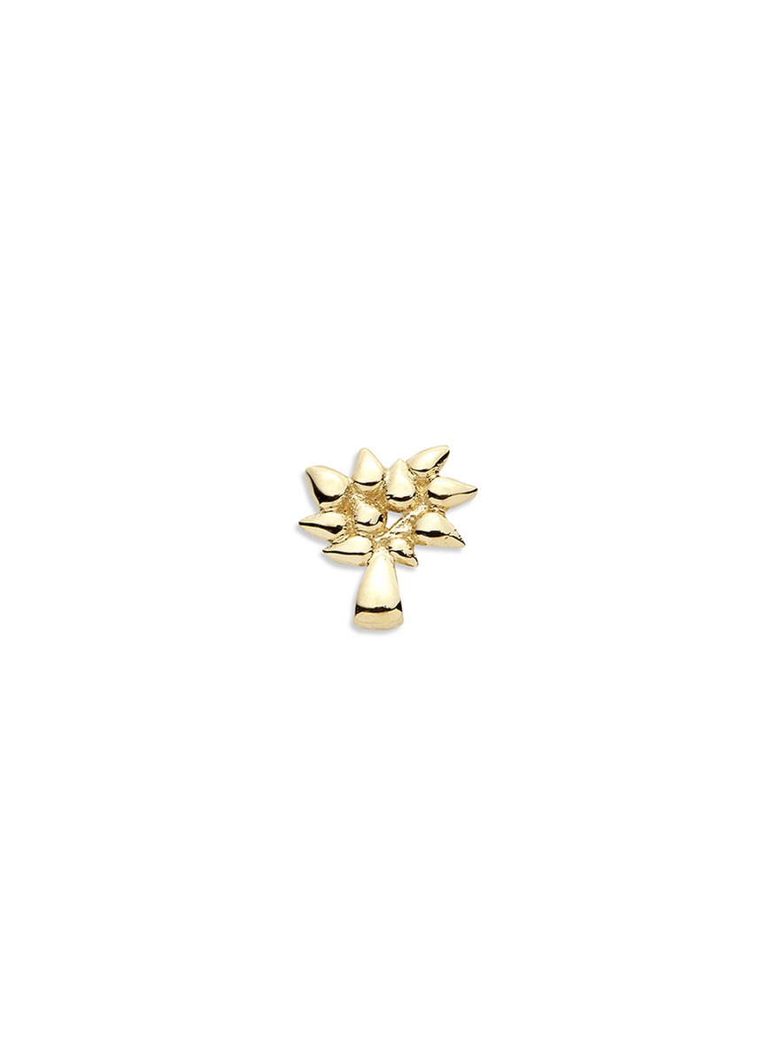 LOQUET LONDON 18k yellow gold Tree of Life charm - Family