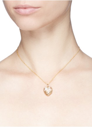 Loquet London-18k yellow gold letter charm - I