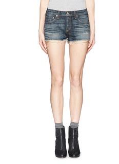 RAG & BONE/JEAN'Mila' distressed denim shorts