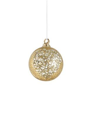 Main View - Click To Enlarge - Shishi As - Glitter Glass Ball Christmas ornament